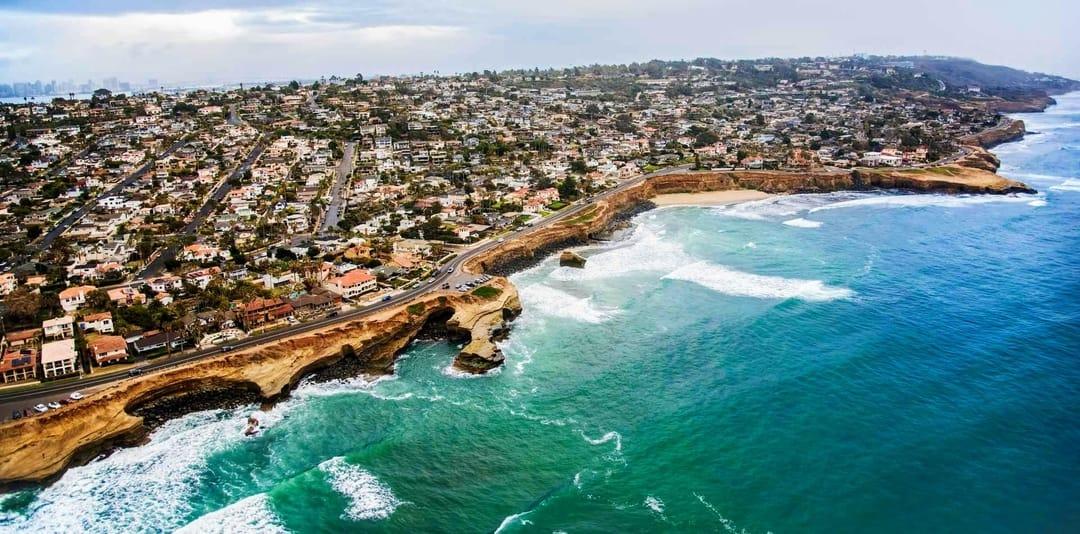Coastal San Diego Sunset Cliffs