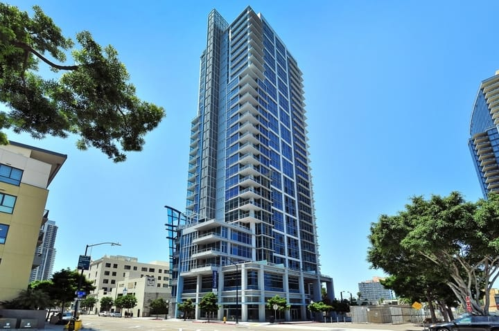 Sapphire Tower Condos For Sale In Downtown San Diego