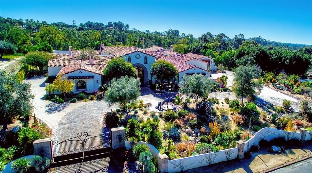 Rancho Santa Fe Homes For Sale Via Del Charro